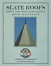 Slate Roof Design and Installation Manual