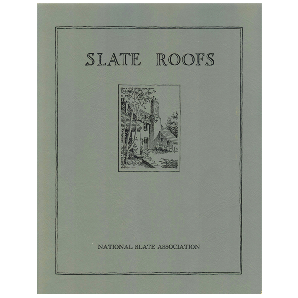 1926 Slate Roofing Manual