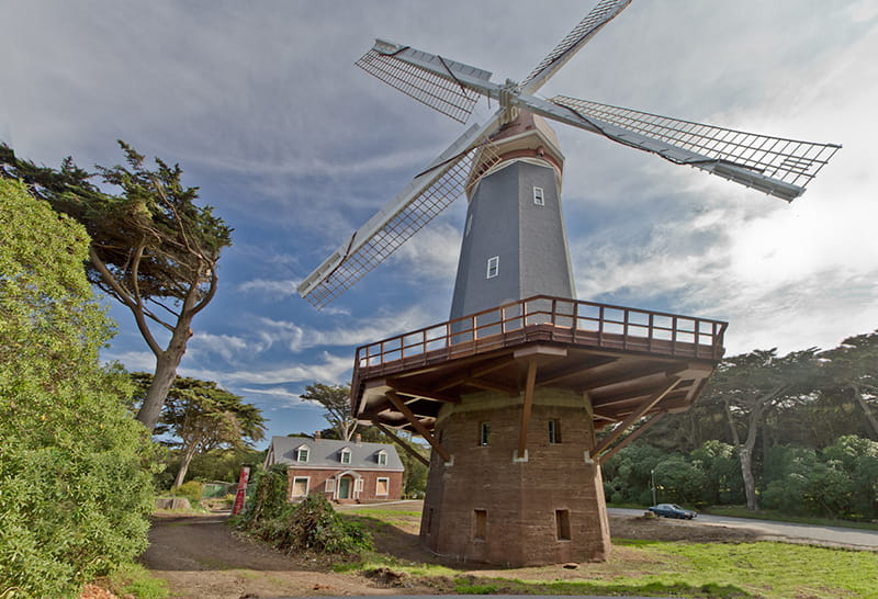 Golden Gate Park – Murphy's Windmill