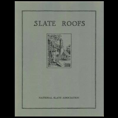 1926 Slate Roofing Manual
